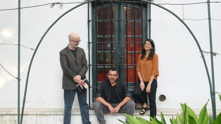 14/3/19 cultura festival leer . escritores samantha schweblin, Rodrigo fresan y alberto fuguet foto silvana boemo