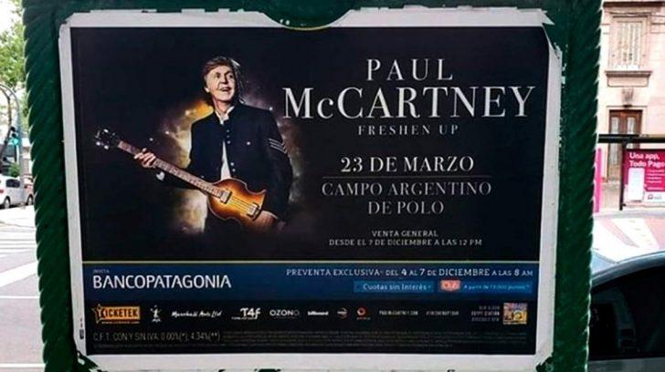 paul mccartney bsas