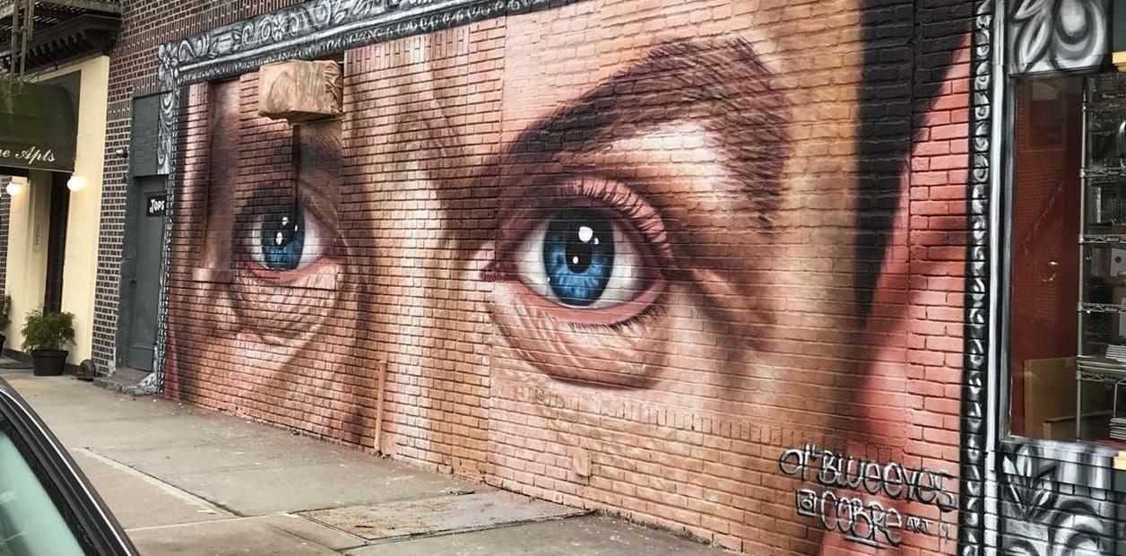 La historia del artista santafesino que pintó los ojos de Sinatra en Nueva York