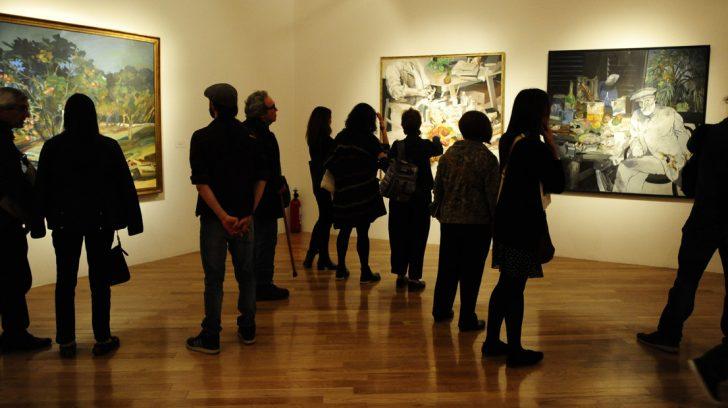 Cultura - Re apertura del Museo Nacional de Bellas Artes e inauguración de la muestra de Carlos Alonso 12-04-2019 Foto: Fernando de la Orden