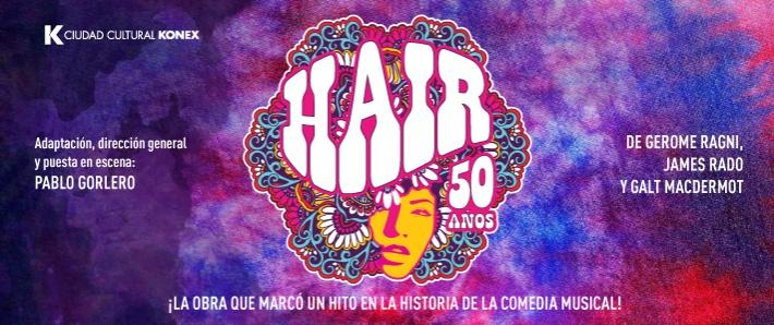 Resultado de imagen para hair 50 años centro cultural konex