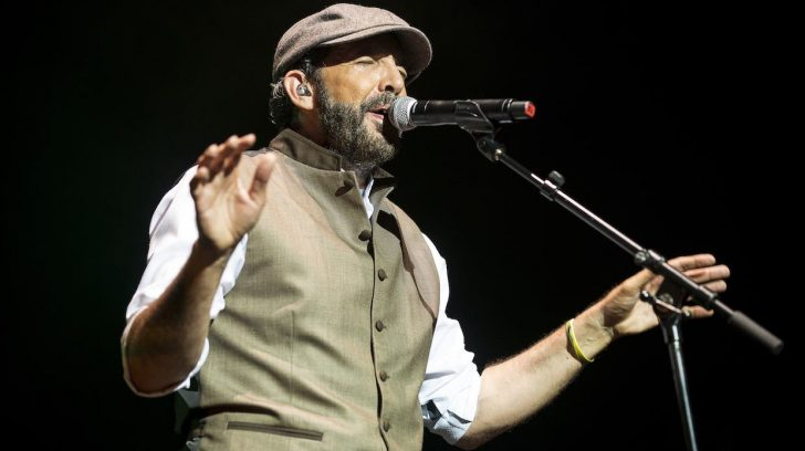 LONDON, ENGLAND - JULY 14:  Juan Luis Guerra performs at O2 Academy Brixton on July 14, 2015 in London, England.  (Photo by Nick Pickles/WireImage)