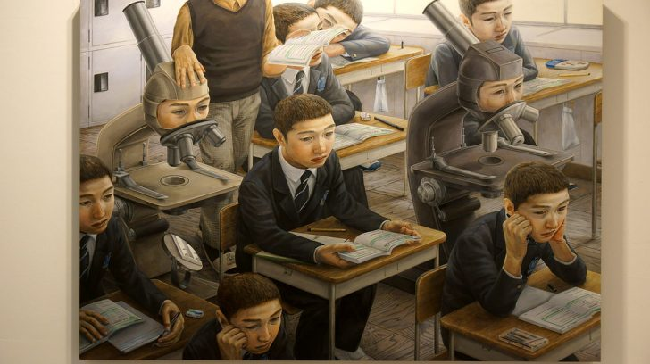 Seddlings: Painting by Tetsuya Ishida