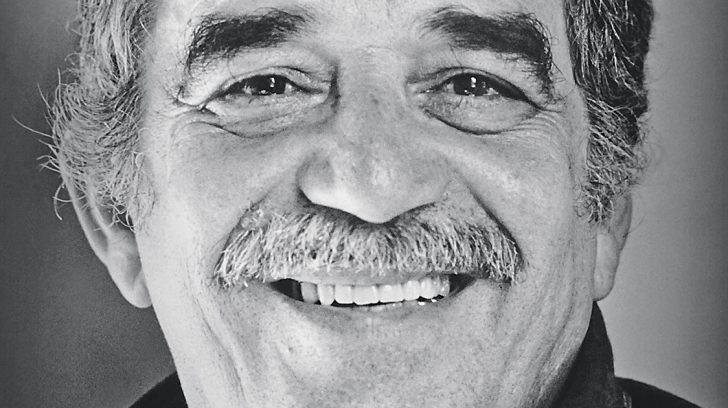 Gabriel Garcia Marquez 1982 Foto AFP