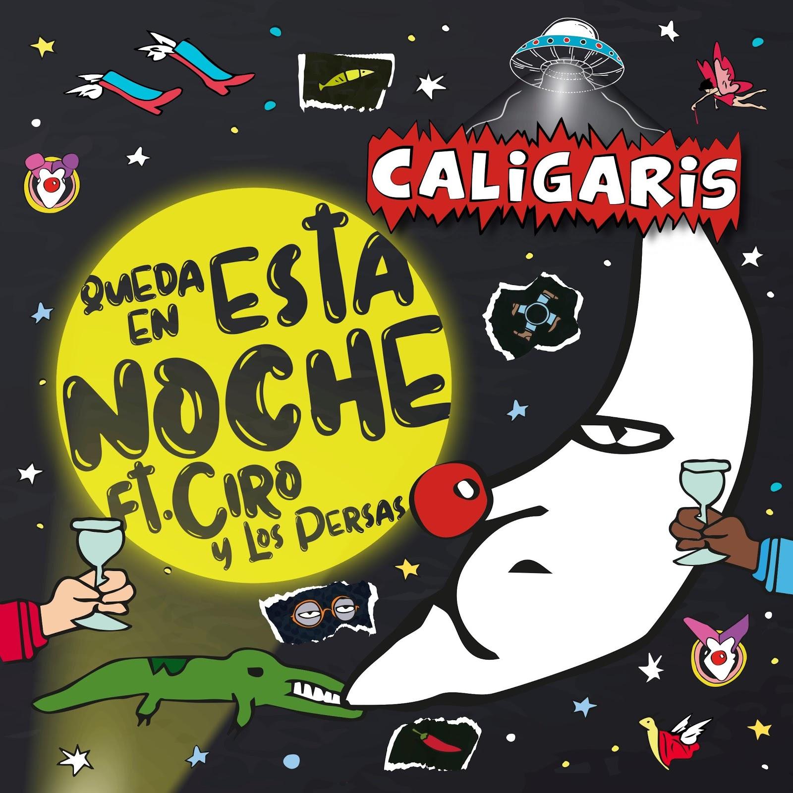 Los Caligaris Presentan Queda En Esta Noche Con Andrés