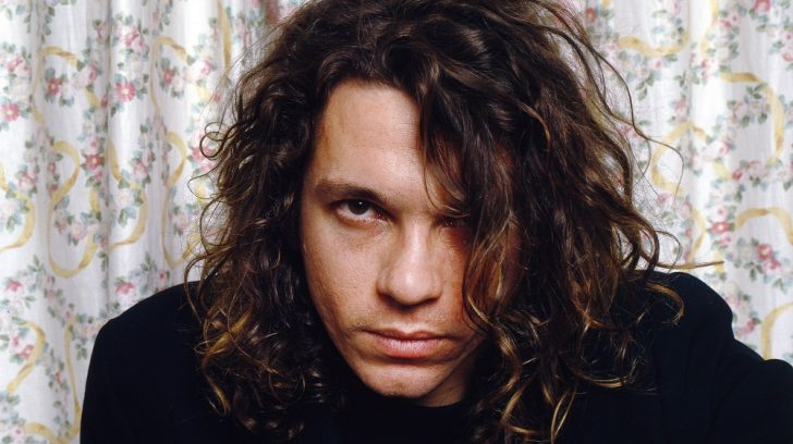 Mandatory Credit: Photo by Ilpo Musto/REX/Shutterstock (1274038u) INXS at a hotel room in Glasgow - Michael Hutchence Various