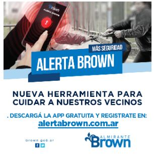Almirante Brown – Alerta Brown