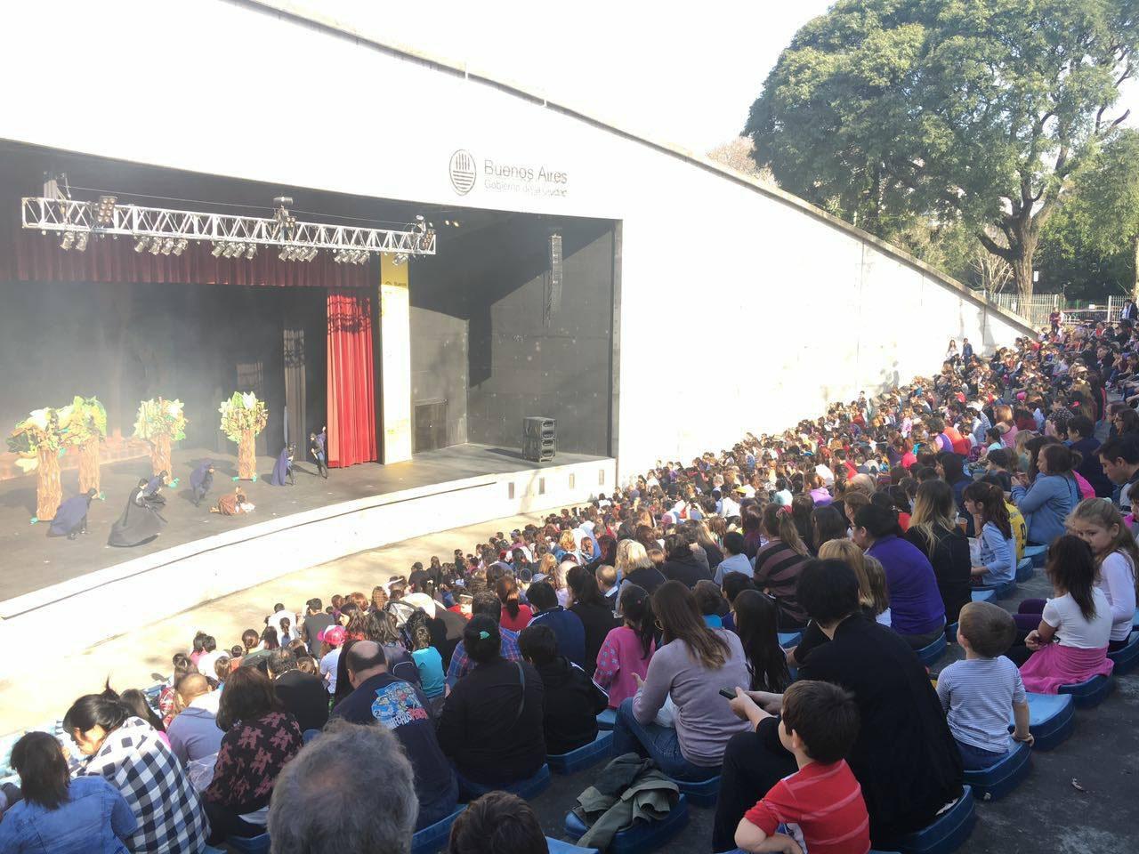 Resultado de imagen para Espectáculos infantiles en Verano en el Anfiteatro del Parque Centenario