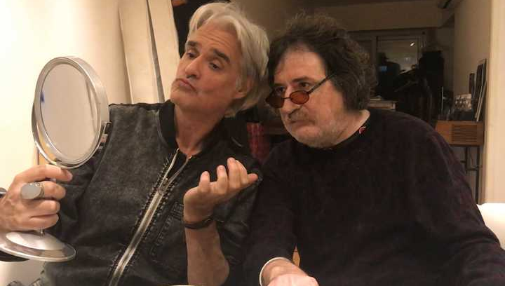 Charly García y Roberto Pettinato grabaron juntos el primer disco ...