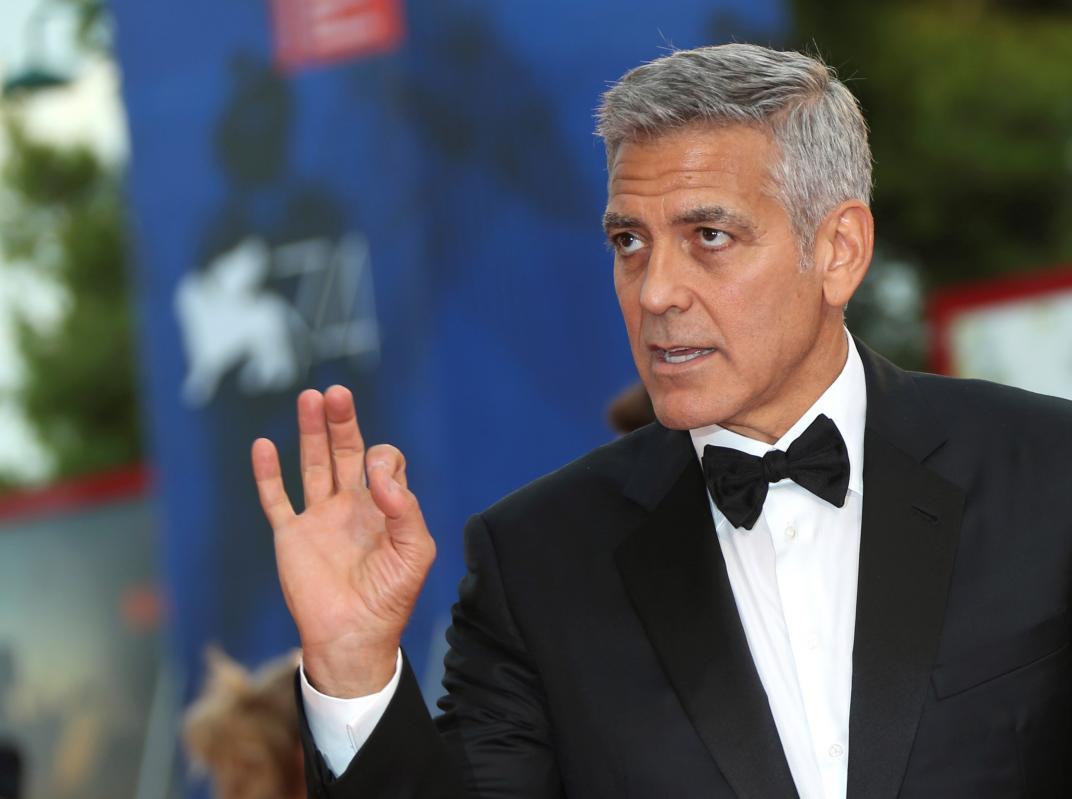 George Clooney: «el racismo es la pandemia de EEUU»