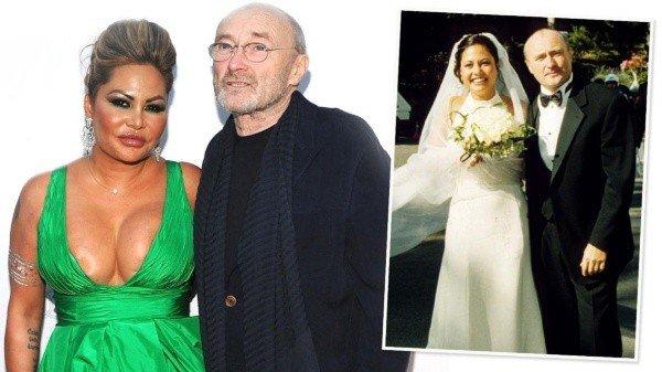 El dolor de Phil Collins: su esposa lo dejó por mensaje de texto y se casó con otro