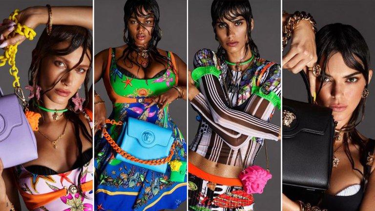 Quién es la modelo argentina que protagoniza la campaña de Versace 2021