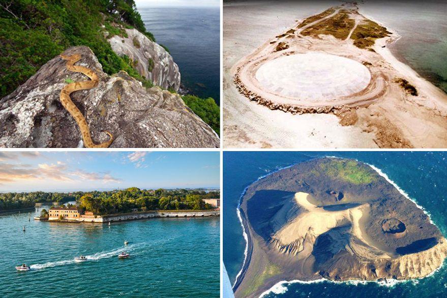 Las islas más peligrosas del mundo: caníbales, víboras y desechos nucleares