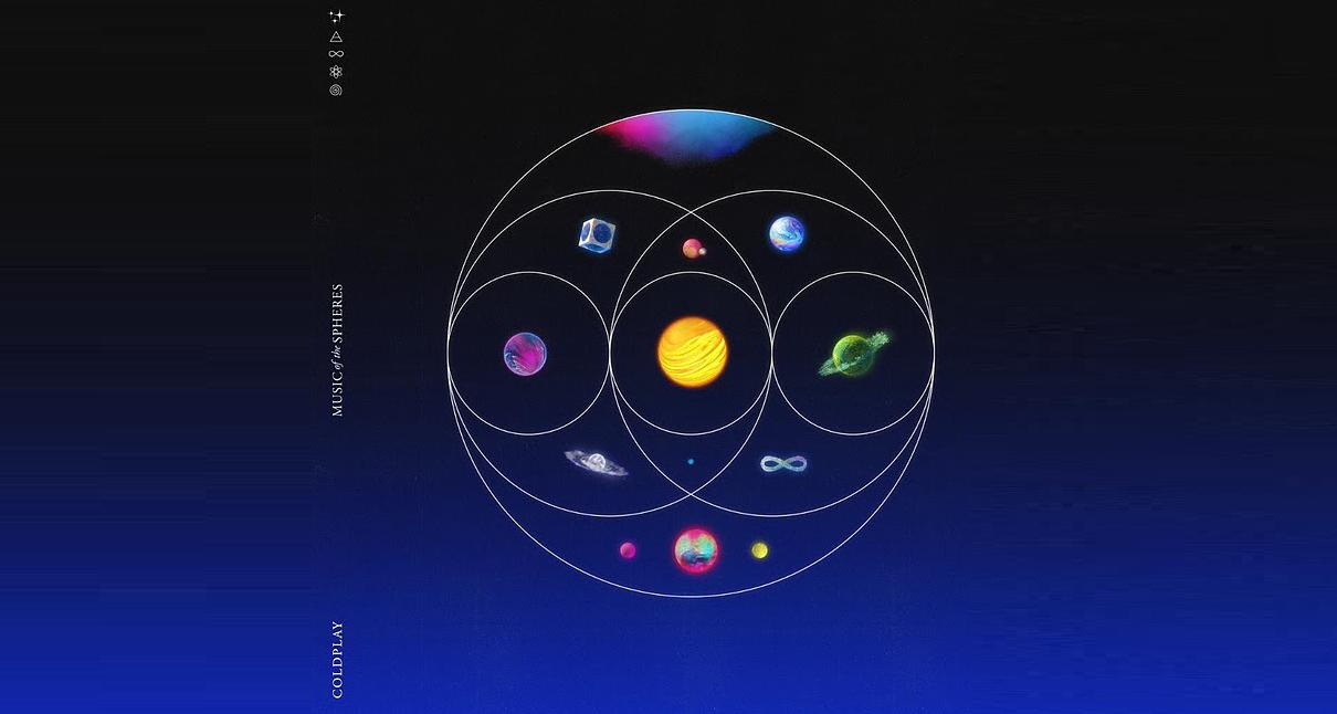 Coldplay presenta su esperado nuevo álbum «Music Of The Spheres»